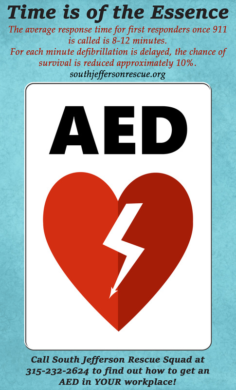 Aed Automated External Defibrillators South Jefferson Rescue